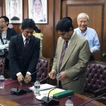 BOI-バングラデシュ投資局庁での様子